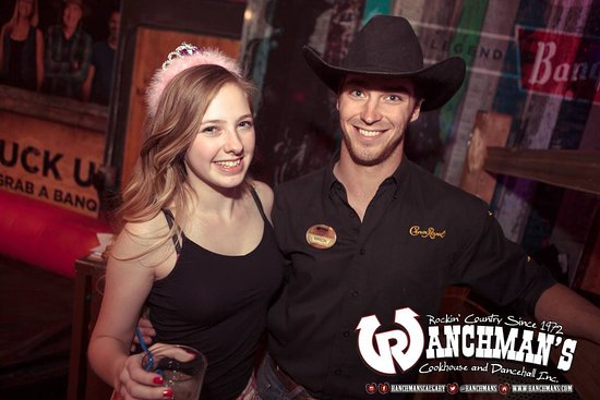 Ranchman's Cookhouse and Dancehall: Friendly staff