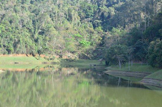 Fazenda Ribeirao Hotel De Lazer: Lago grande, onde ocorrem as atividades de lazer aquático.