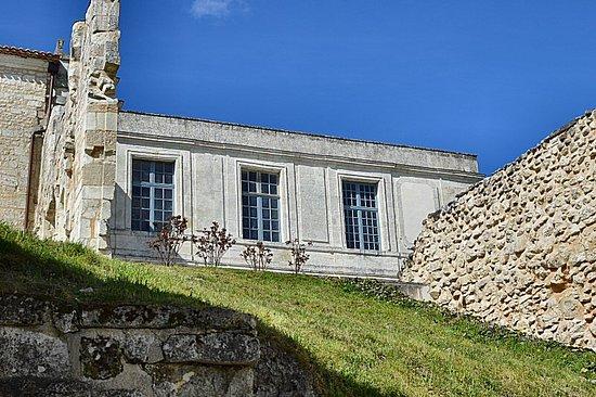 Villebois-Lavalette, France: View of upper storey