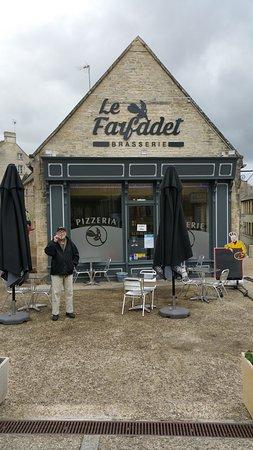 """Le Farfadet (""""pixie"""" or """"elf"""") in Creully, near Bayeux, France"""