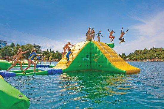Sylvan Lake, Canada: Jump for joy!