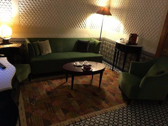Palais Faraj Suites & Spa: In-Suite lounge area.