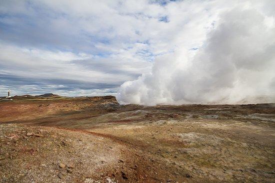Grindavik, ไอซ์แลนด์: Gunnuhver