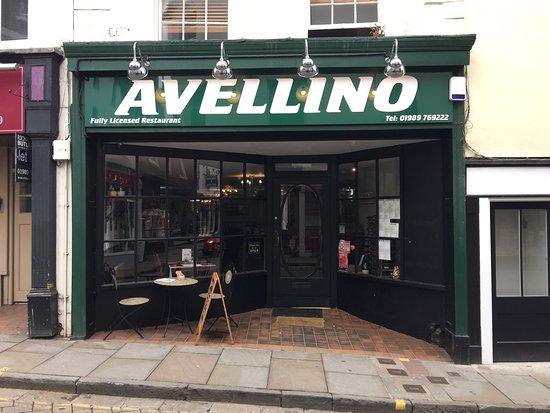 Ross-on-Wye, UK: Avellino Italian restaurant