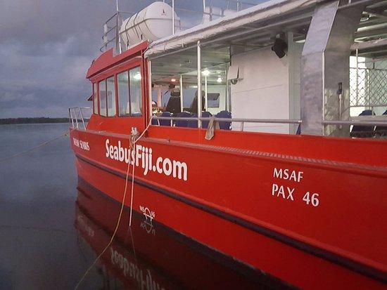Matacawalevu Island, ฟิจิ: Tavewa Seabus Ferry