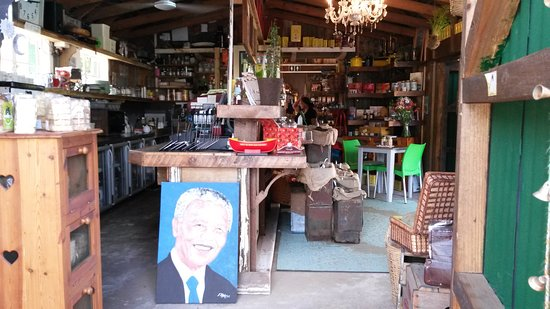 Wilderness, Sudáfrica: the shop