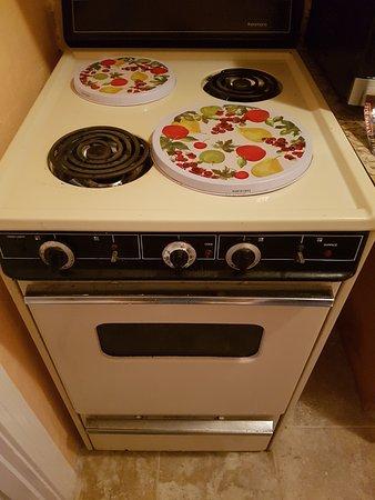 Redington Shores, FL: Cocina que no funcionaba