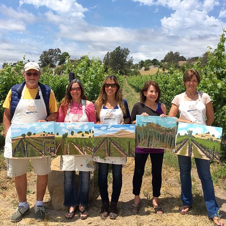 Santa Ynez, CA: Completed works at Brander Winery