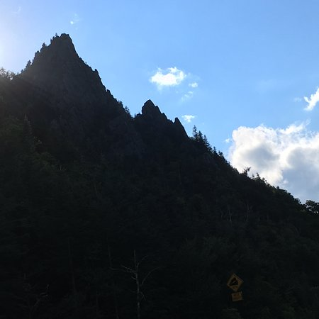 Rock Spires in Dixville Notch State Park