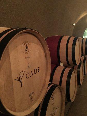 Angwin, Καλιφόρνια: Wine barrels