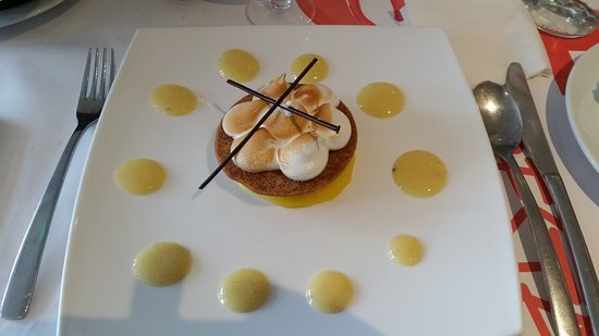 Deols, France: Tarte citron revisitée
