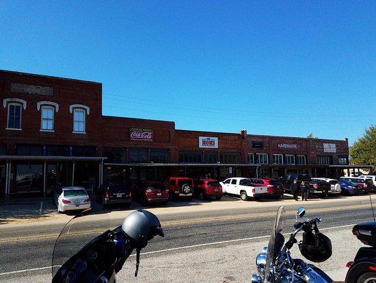 Love the main street in Aubrey