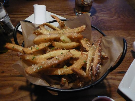 Magnolia's at the Mill: Parmesan Truffle Fries