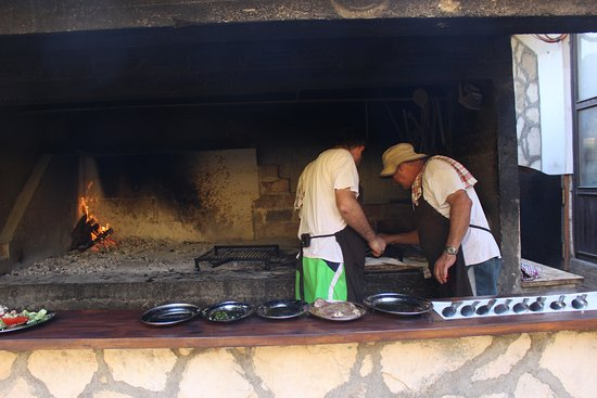 Vis, Croatia: the chefs