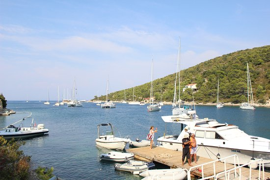 Vis, Croatia: the bay