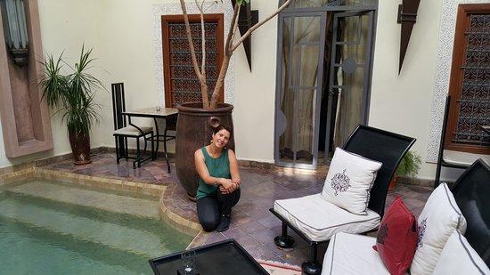 Riad Jardin des Reves: O quarto fica atrás de mim!