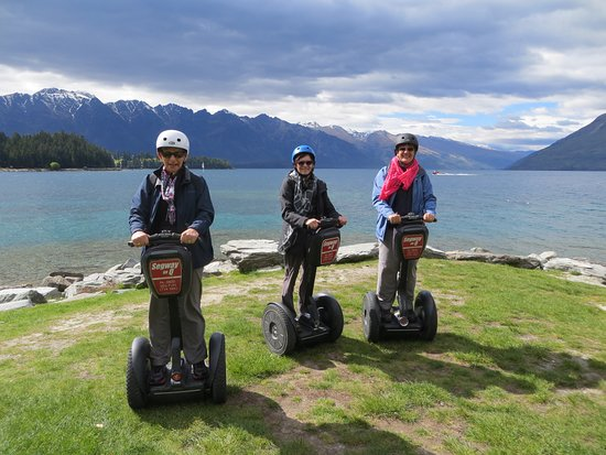 Queenstown, New Zealand: Ready to start the adventure