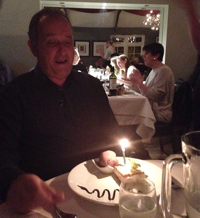 Dads Birthday Meal