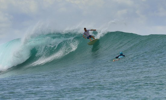 Mentawai Surf Retreat: Shot taken by MSR staff.
