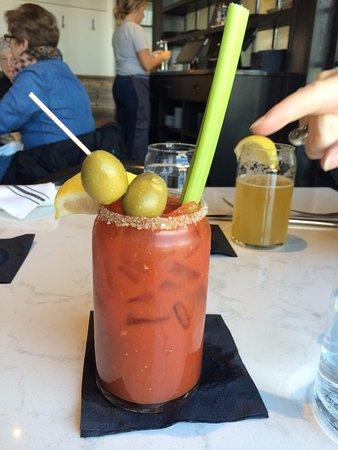 Newburyport, MA: A superb Bloody Mary - House version!
