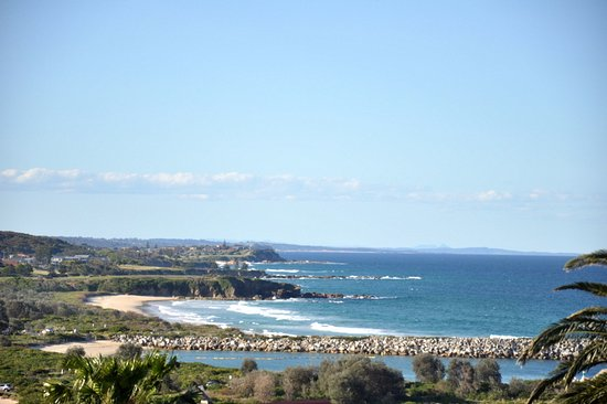 Whale Motor Inn: Spectacular view from the balcony