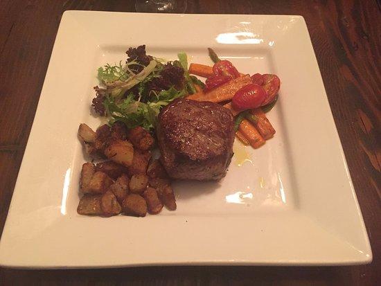 Luccio's: Aust. grass fed steak
