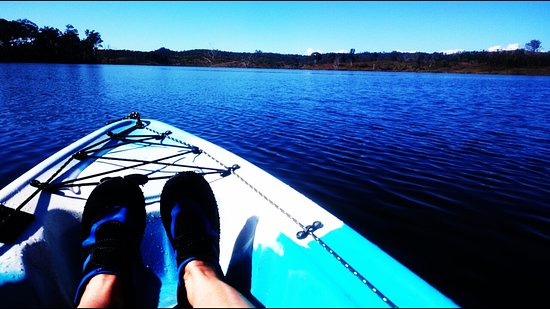 Beaudesert, Australia: Had a fantastic morning in the kayak on Wyaralong Dam, so peaceful, then a picnic lunch.
