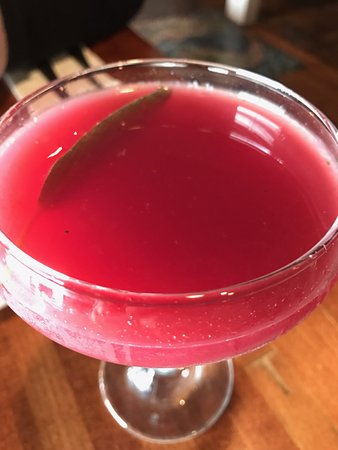 Hector, NY: beet cocktail