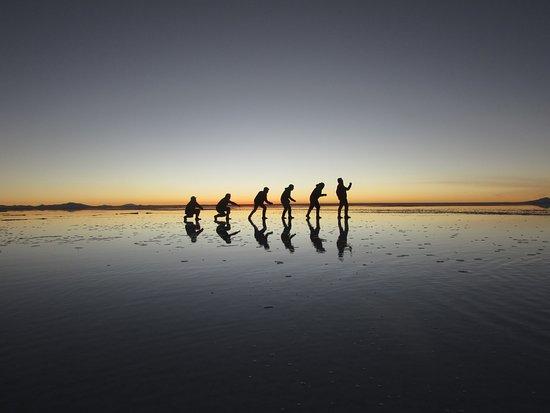 Sunset Salar De Uyuni Picture Of Andrea Tours Uyuni