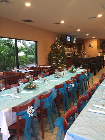 Wilton Manors, Flórida: christmas party for 40 guest.