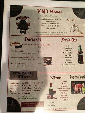 Carrollton, KY: menu