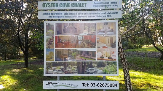The front of Oyster Cove