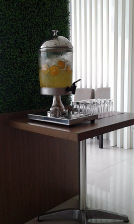Panakkukang, Indonesia: Welcome drink