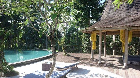 Pandawas Villas: Вид с террасы виллы