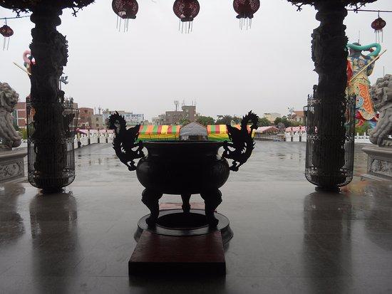 Luermenma Temple : Ateş yaktıkları büyük kazan