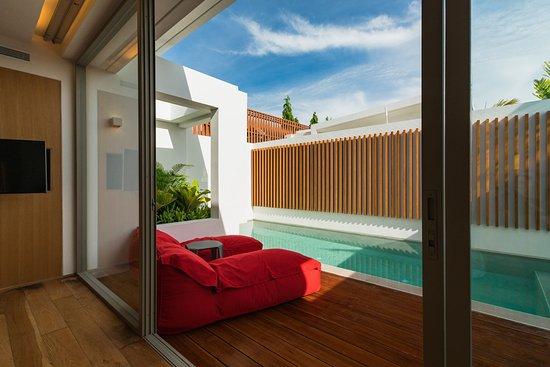 Garden pool villa bild von sensimar koh samui resort and for Garden pool villa outrigger koh samui