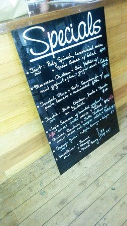 Great café food, and excellent side salad!
