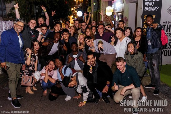 Image result for seoul gone wild pub crawl