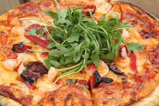Raumati Beach, New Zealand: Great Pizza Selection. Sunday $10 from 3pm - 8pm