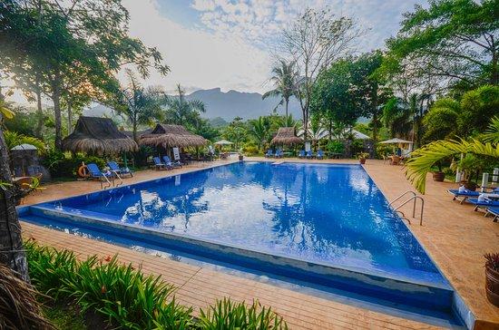 Pool - Picture of Daluyon Beach and Mountain Resort, Palawan Island - Tripadvisor