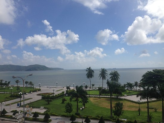Quy Nhon, Vietnam: view from the balcony