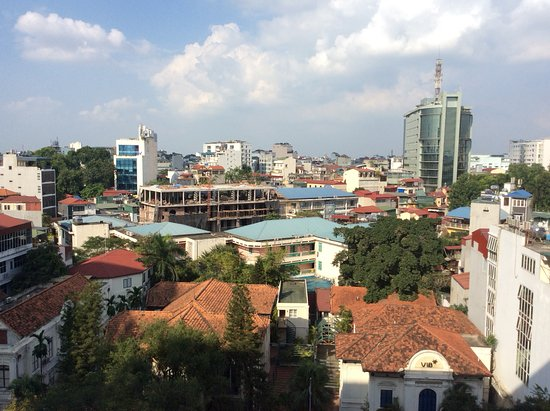 Movenpick Hotel Hanoi: View from our room.