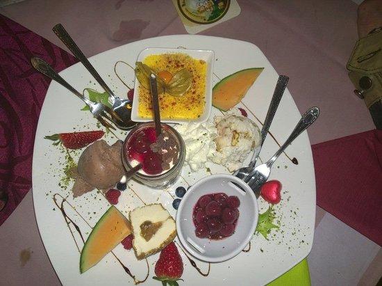 Mombris, Germany: Kleiner Dessertteller :-)