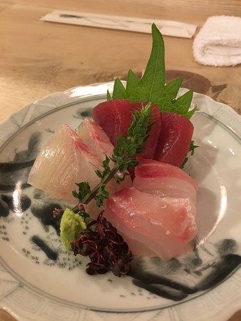Yorii-machi, ญี่ปุ่น: Fresh sashimi