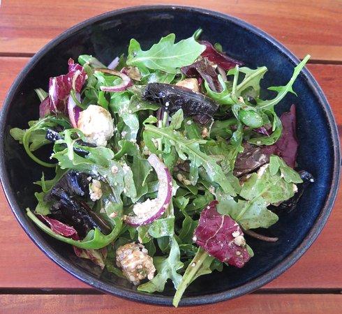 Manjimup, Australia: Mushroom & Asparagus Salad