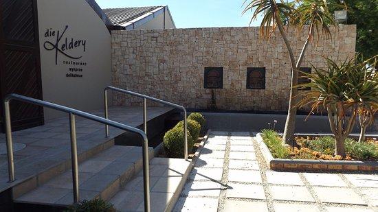 Vredendal, Afrika Selatan: Entrance to venue.