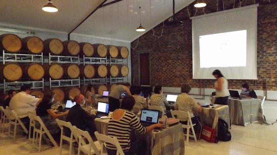 Vredendal, Sudáfrica: Perfect conference venue on a hot day.
