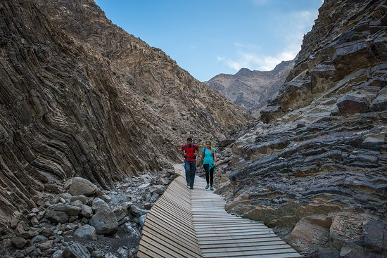 Experience Dubai's wild side during a trekking journey through Hatta