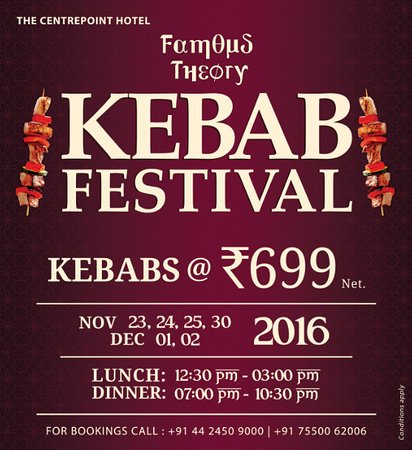 famous theory kebab food festival