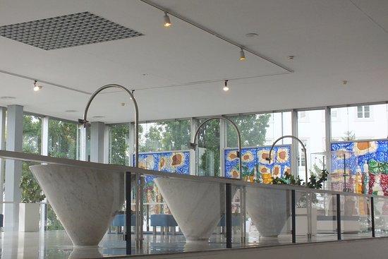 Caracalla Therme: Питьевая зона в термах.
